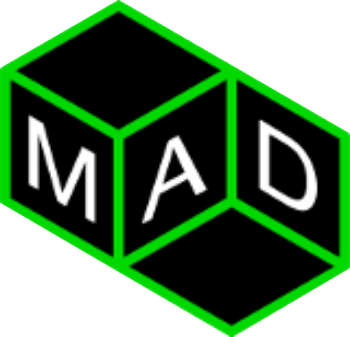 MAD - landscaping companies Calgary logo