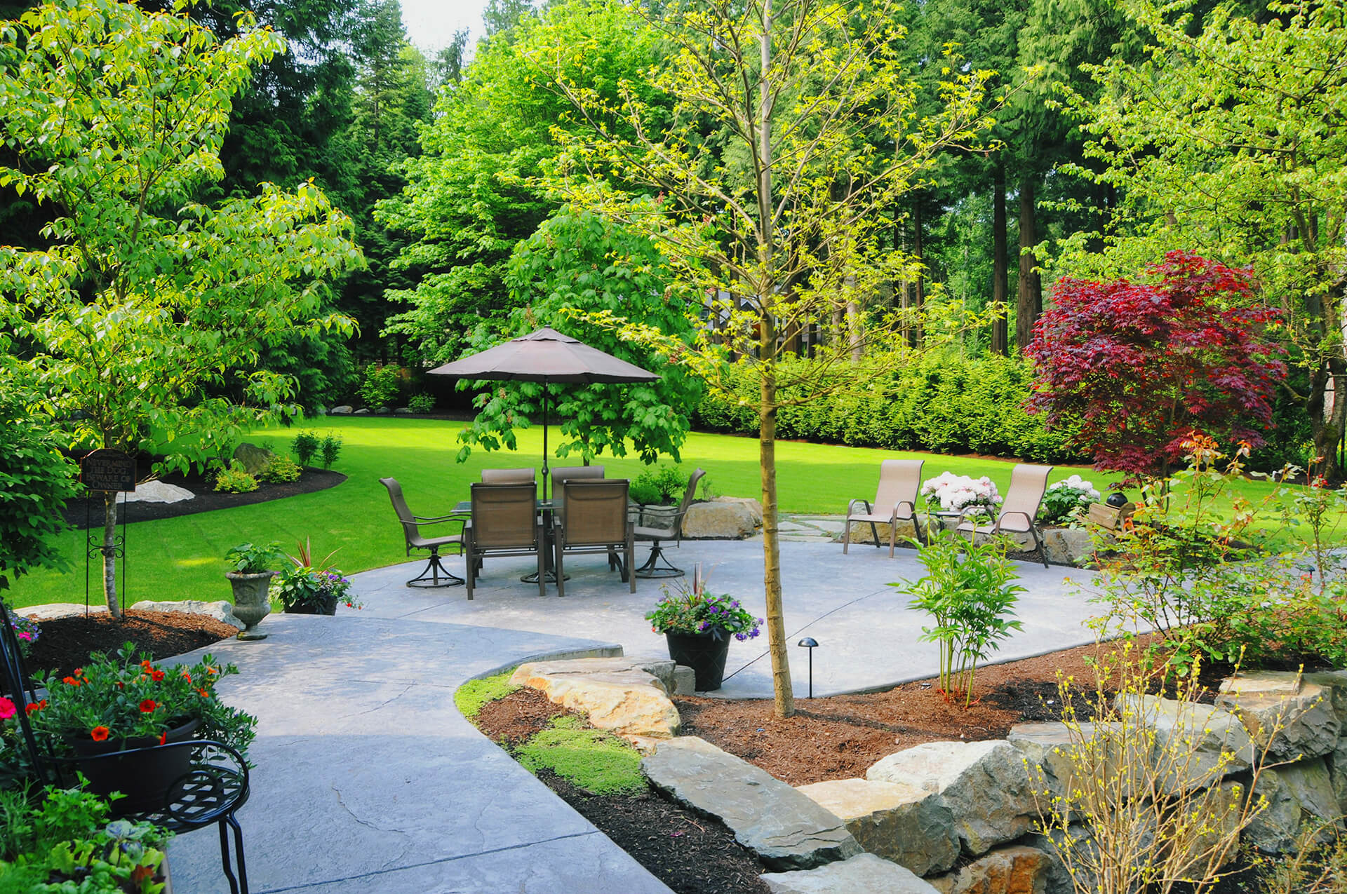 landscaping design Calgary - enhance experience