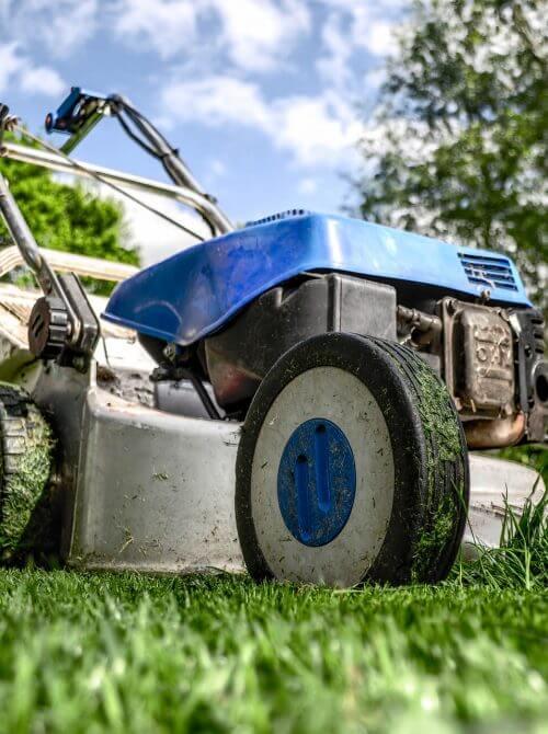 landscaping design Calgary - power raking
