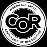 Concrete companies Calgary - COR logo
