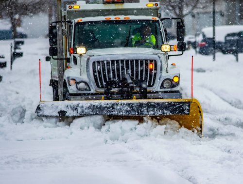 snow removal Calgary - plowing