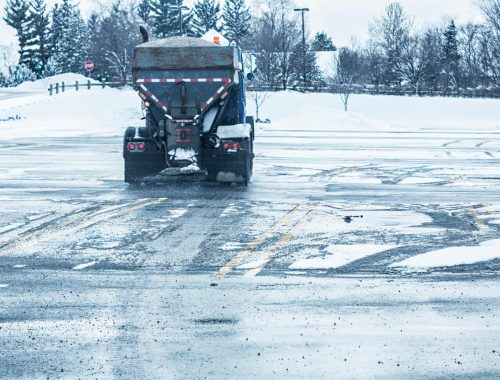 snow removal Calgary - sanding