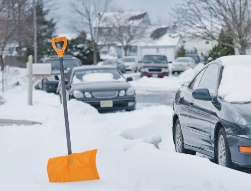 sidewalk snow removal Calgary